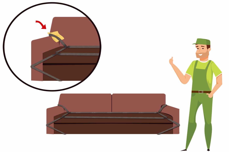 Swell How To Get A Sofa Through A Small Door Machost Co Dining Chair Design Ideas Machostcouk