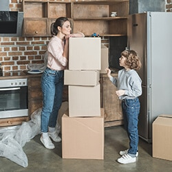start unpacking the essentials first